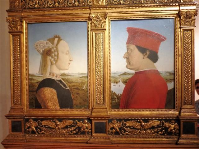 Piero Della Francesca portraits