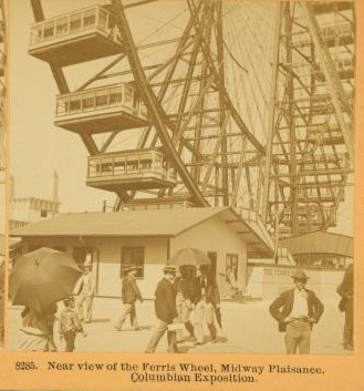 the first ferris wheel