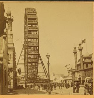The first ferris wheel