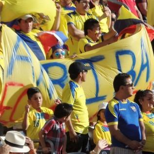 Ecuador supporters