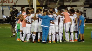 Colombia huddles