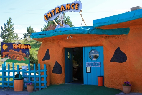 Entrance to Bedrock City