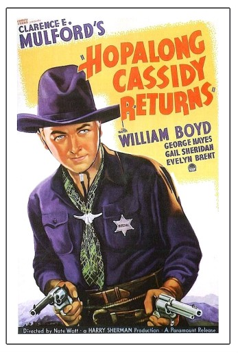 Hoppalong Cassidy movie poster