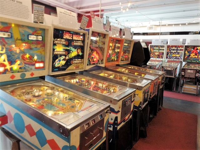 Asbury Park pinball arcade
