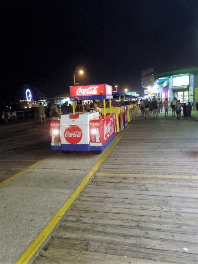 Broadwalk tram car