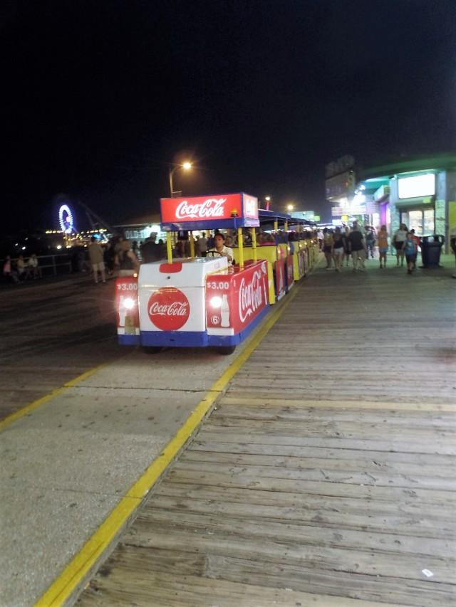 Broadwalk tram car