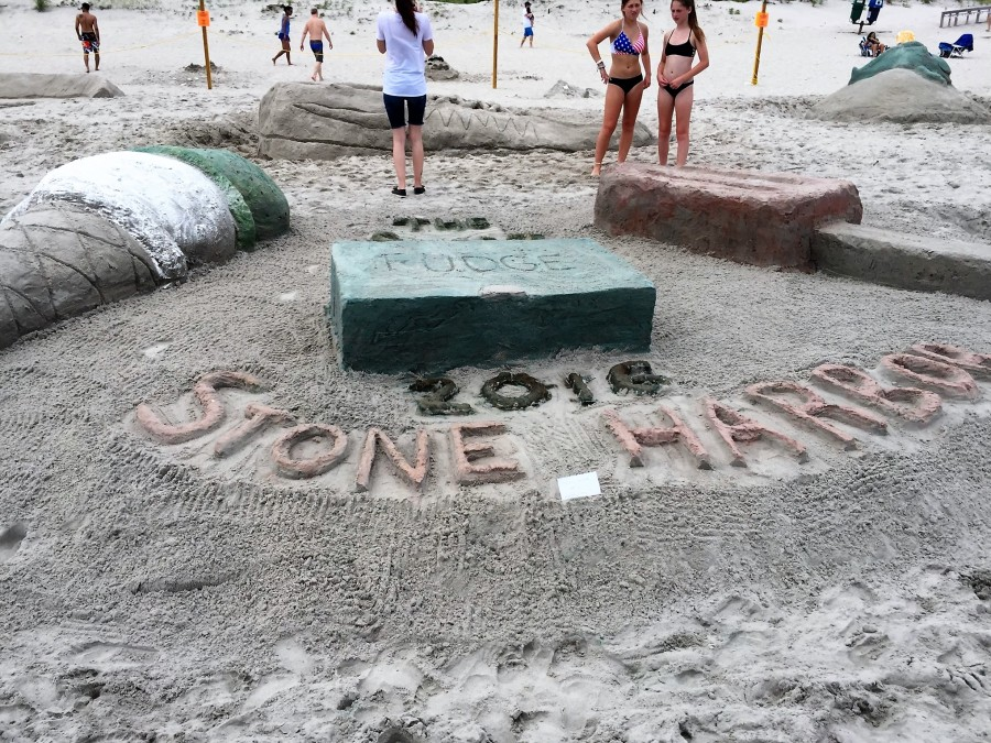 Stone Harbor sandcastle