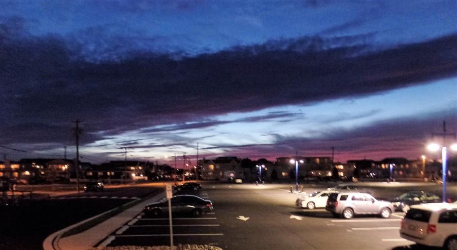 Avalon at sunset