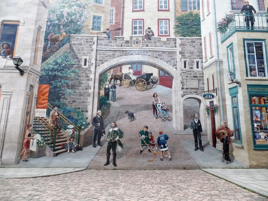 La Fresque des Quebecois