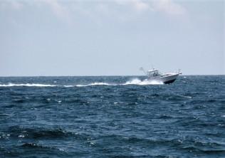 Cruising the Atlantic Ocean