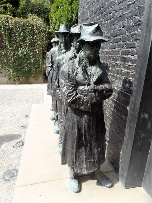 Segal sculpture at Grounds for Sculpture