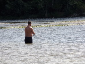 Fishing Wawayanda Lake