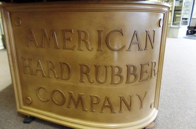 American Hard Rubber Company sign