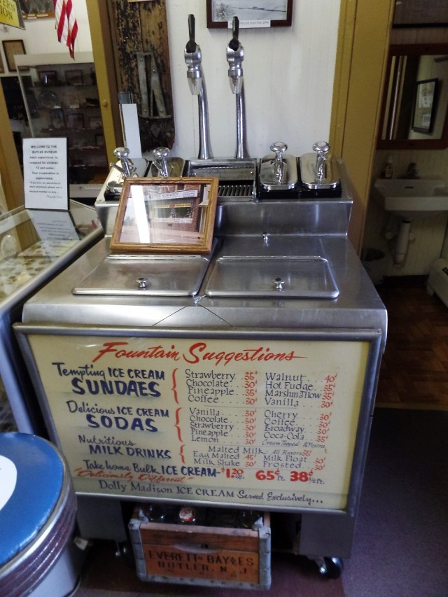 Soda fountain from The Nugget