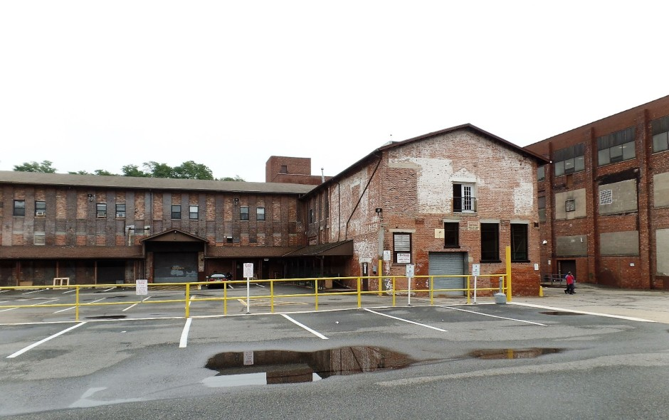 The former Amerace plant