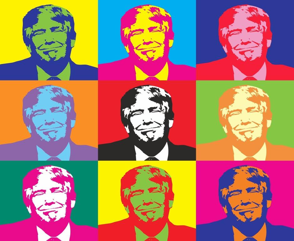 If Warhol did Trump