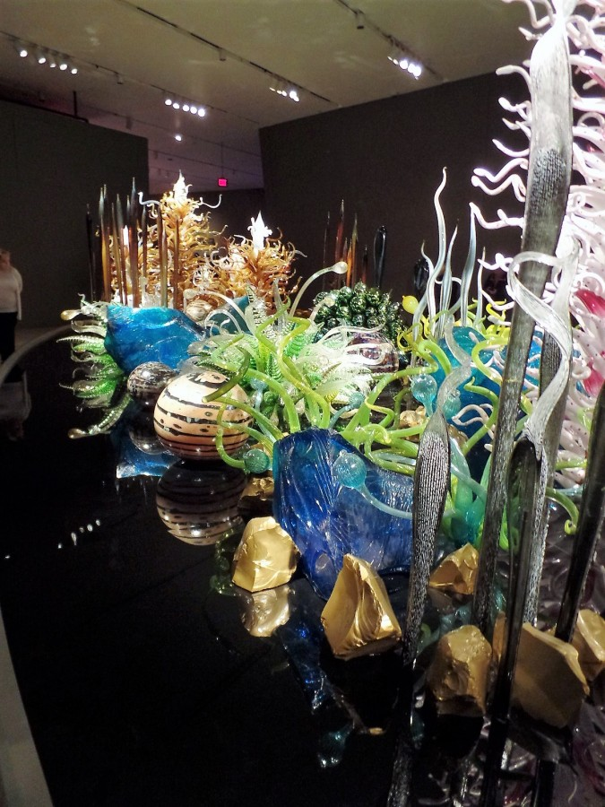 Blown glass by Chihuly