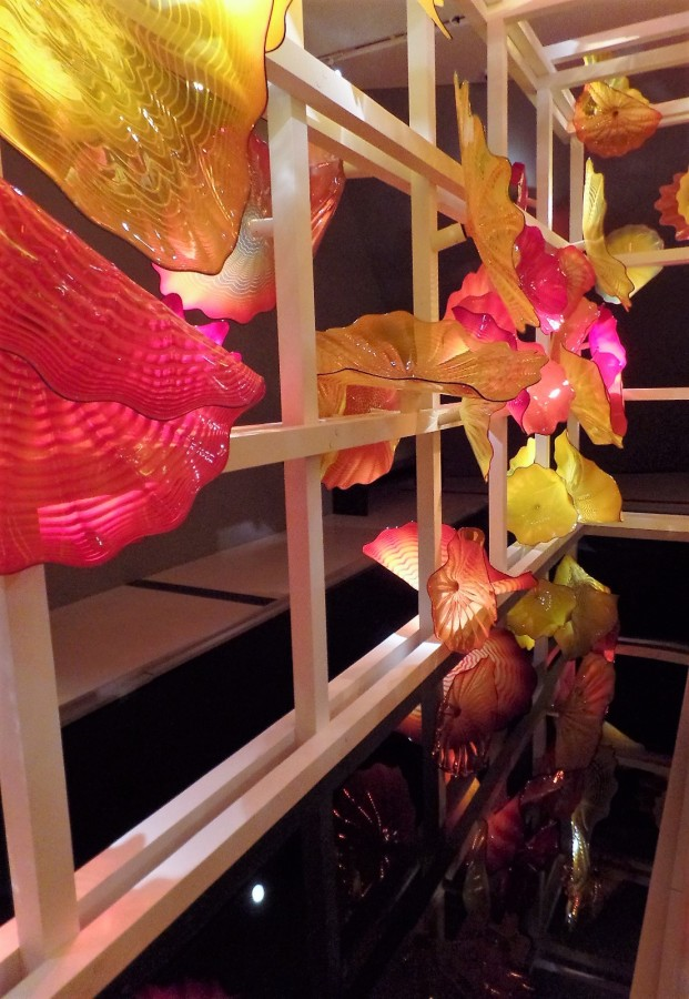 Chihuly blown glass
