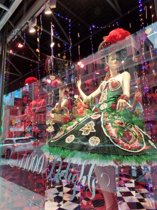 Saks holiday windows