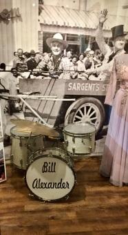 vintage drum kit