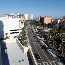 Clearwater Beach street
