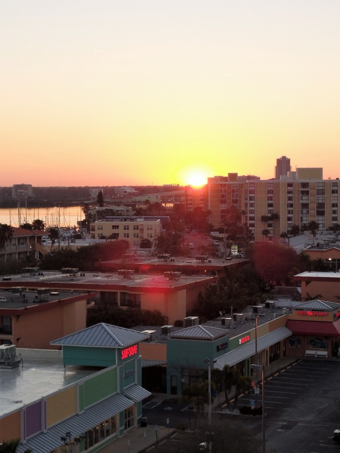 Sunrise over Clearwater Beach
