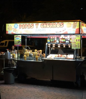 churros stand