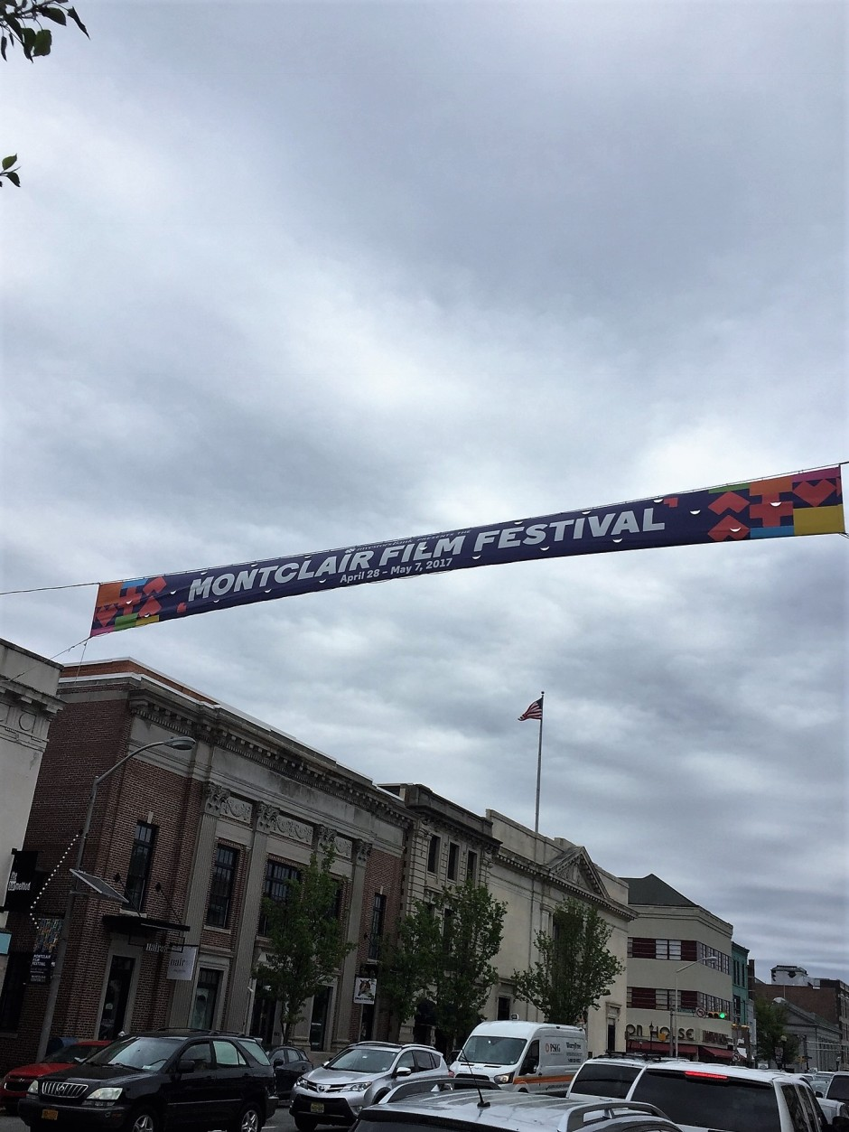 MFf17 banner on Bloomfield Ave.