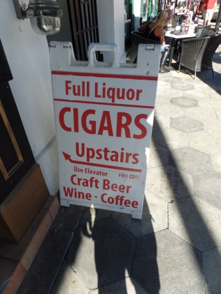 ad for cigars in Ybor
