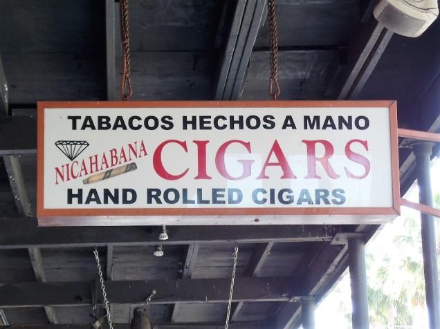 Ybor cigar store