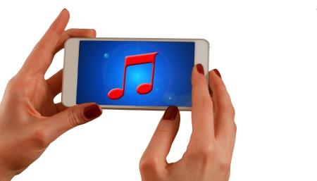 hand-held music