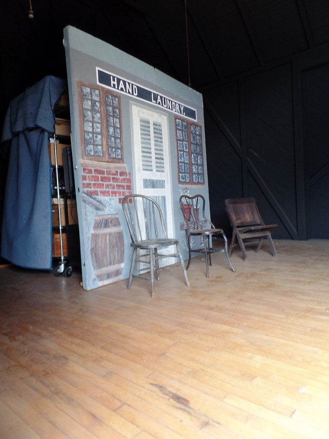 Edison's motion picture stage