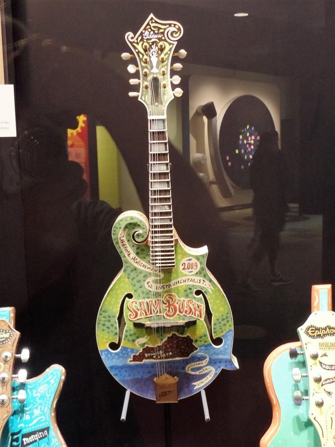 Sam Bush guitar