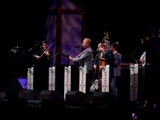 On stage at the Opry