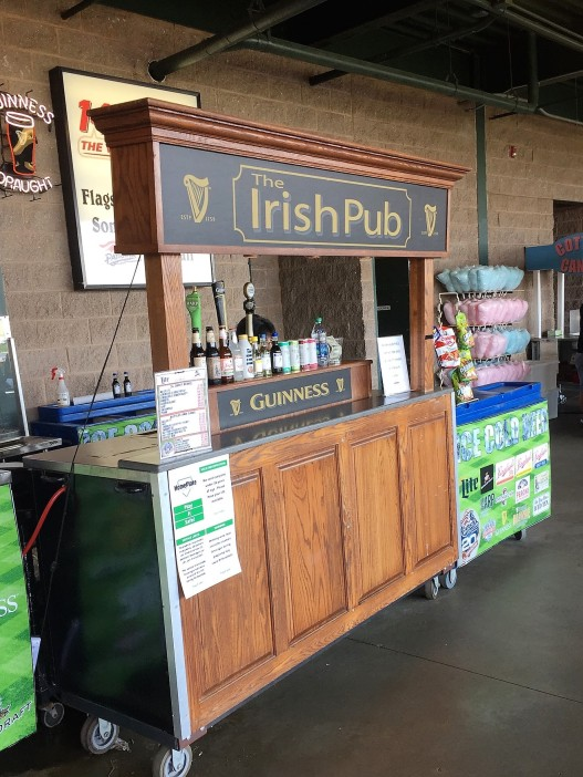 TD Bank ballpark beer stand
