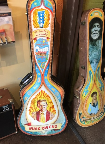 Buck Owens guitar case