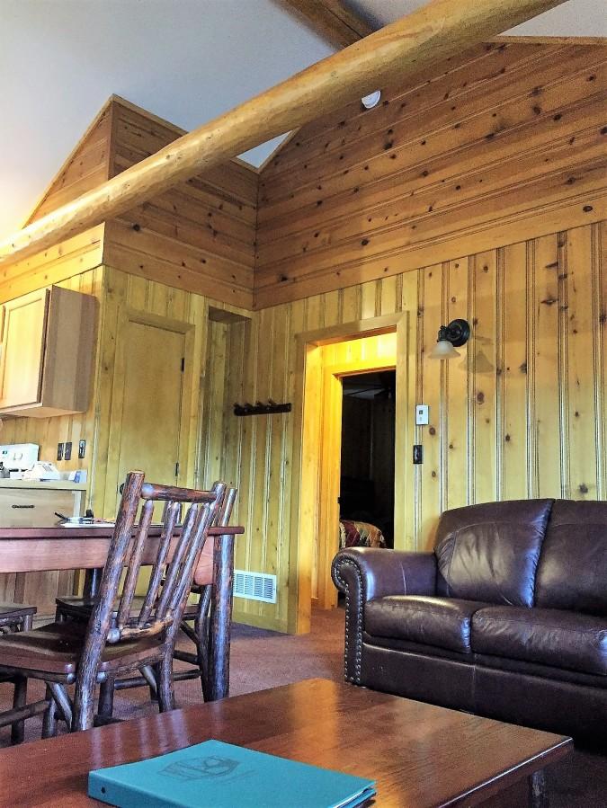 Inside a Y cabin