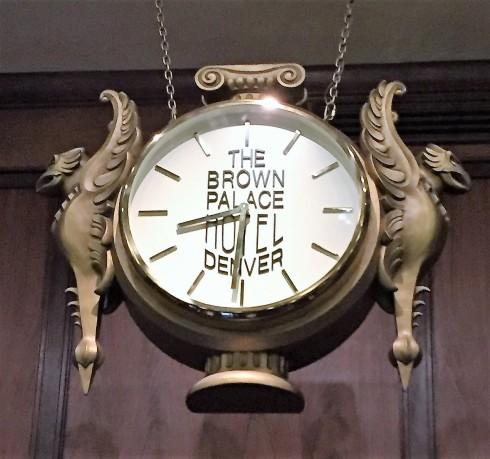 front desk clock