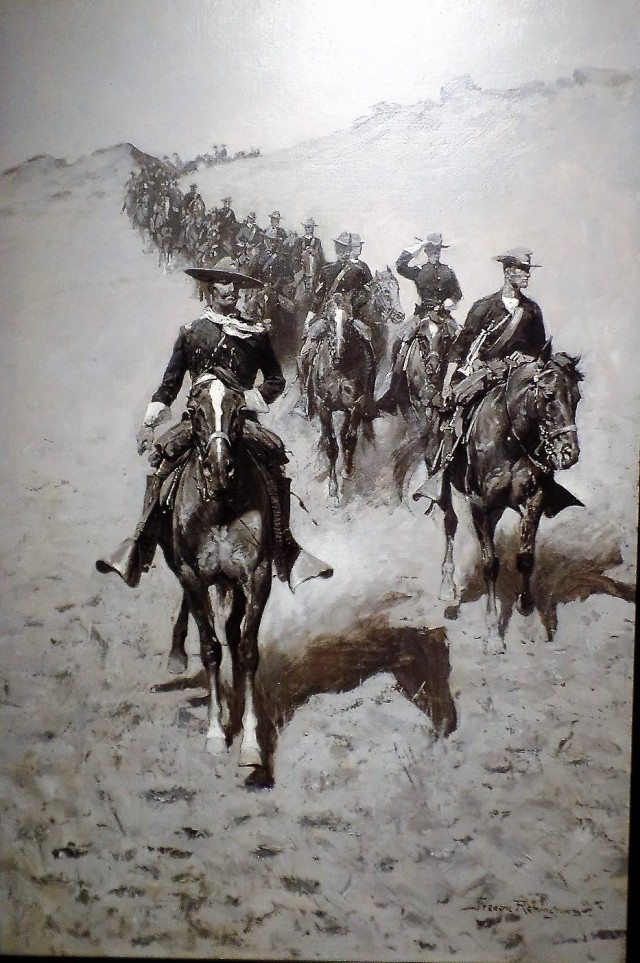 Frederic Remington painting