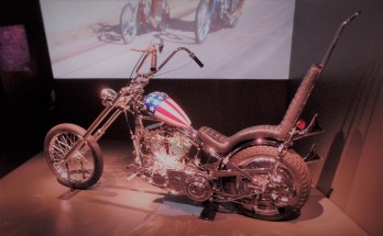 Peter Fonda's motorcycle