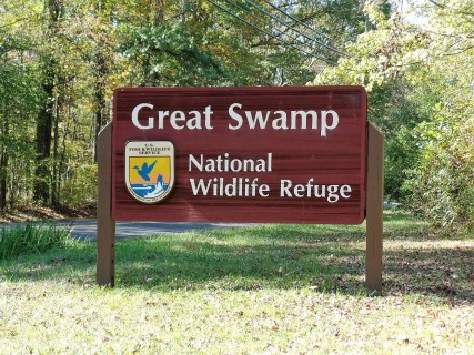 Great Swamp sign