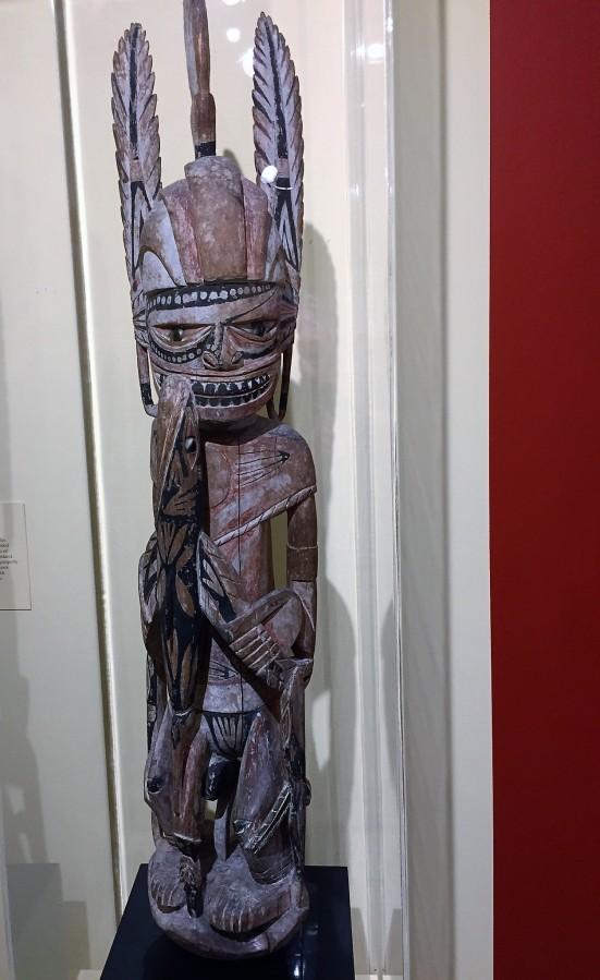 Malagan Ancestor Figure