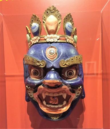 Tibetan mask