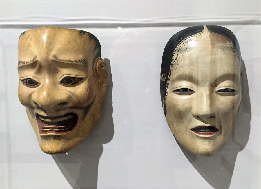 18th century Japanese mask