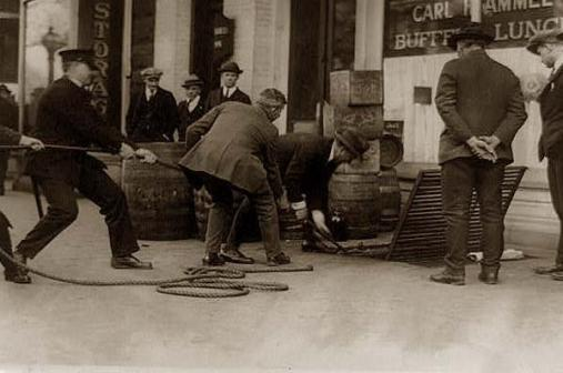 Prohibition raid