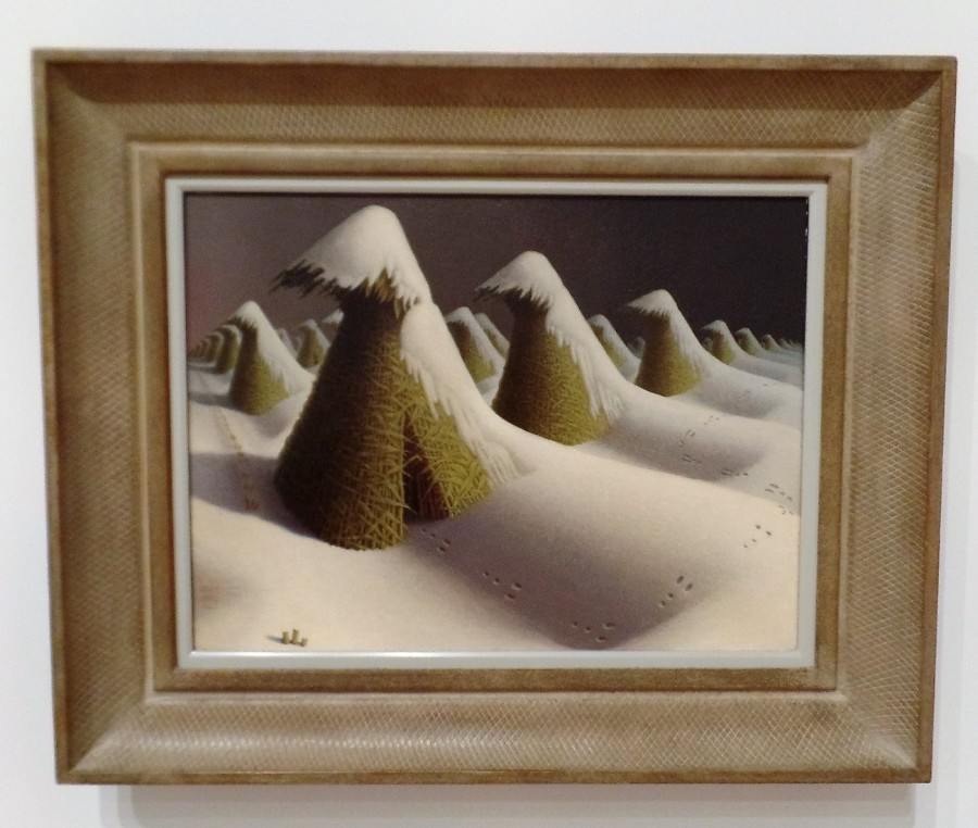 Grant Wood painting