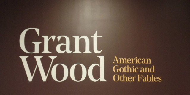 Grant Wood exhibit