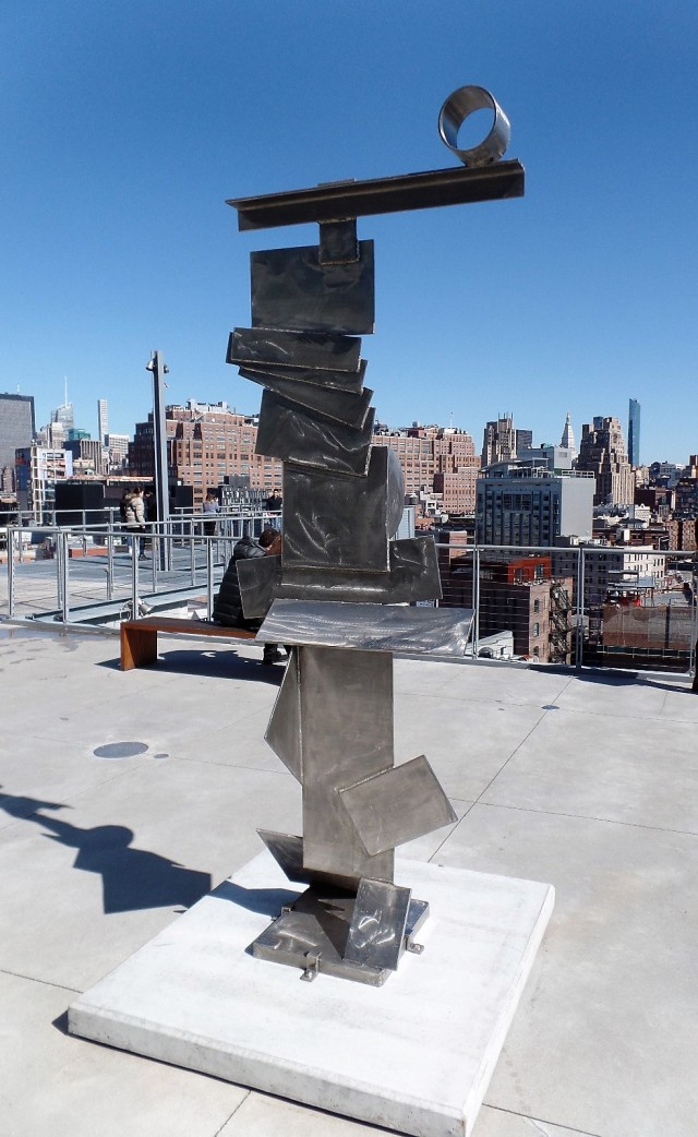 David Smith sculpture at the Whitney