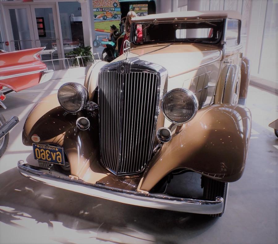 1933 Hupmobile K-231 Convertible Coupe