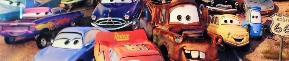 Cars movie poster
